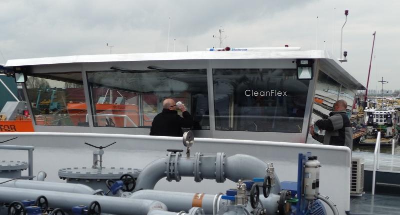 glascoating aanbrengen stuurhut schip